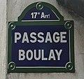 Passage Boulay (Paris) - plaque.JPG