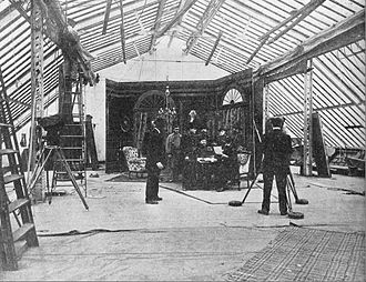 Television and film in New Jersey - Filming at the Pathé American studio in Jersey City Heights (1912)