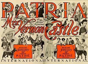 Patria (serial) - Advertisement (1917)