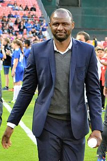 Patrick Vieira French association football manager and former player