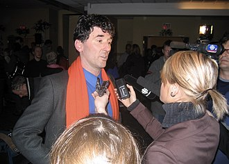 Paul Dewar - Dewar speaking at his 2006 election victory party