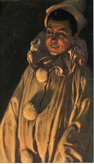 Paul Hoecker - Pierrot (c.1895)