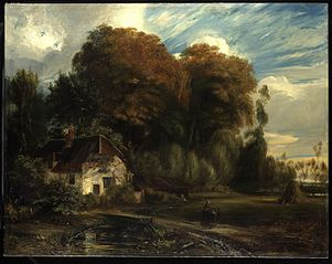 Caretaker's Cottage in the Forest of Compiegne