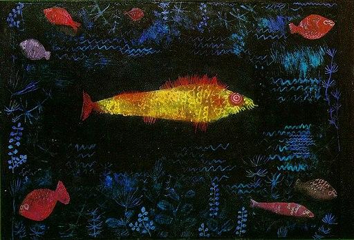 Paul Klee, Złota rybka, 1925