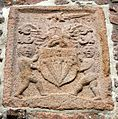 Paulet Family coat of arms, Gorey Castle - geograph.ci - 324.jpg