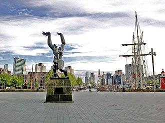 The Destroyed City - Image: Pays Bas Rotterdam Leuvehaven De Verwoerste Stad panoramio