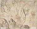 Peasants Drinking verso- sketches of peasants MET DP800547.jpg