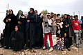 People welcome Ayatollah Sayyed Ali Khamenei in Kermanshah earthquake area 05.jpg
