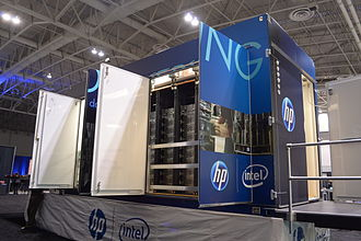 Modular data center - HP Performance Optimized Datacenter, model 240a.
