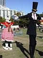 Performers in Tumbalong Park on festival day (5513121558).jpg