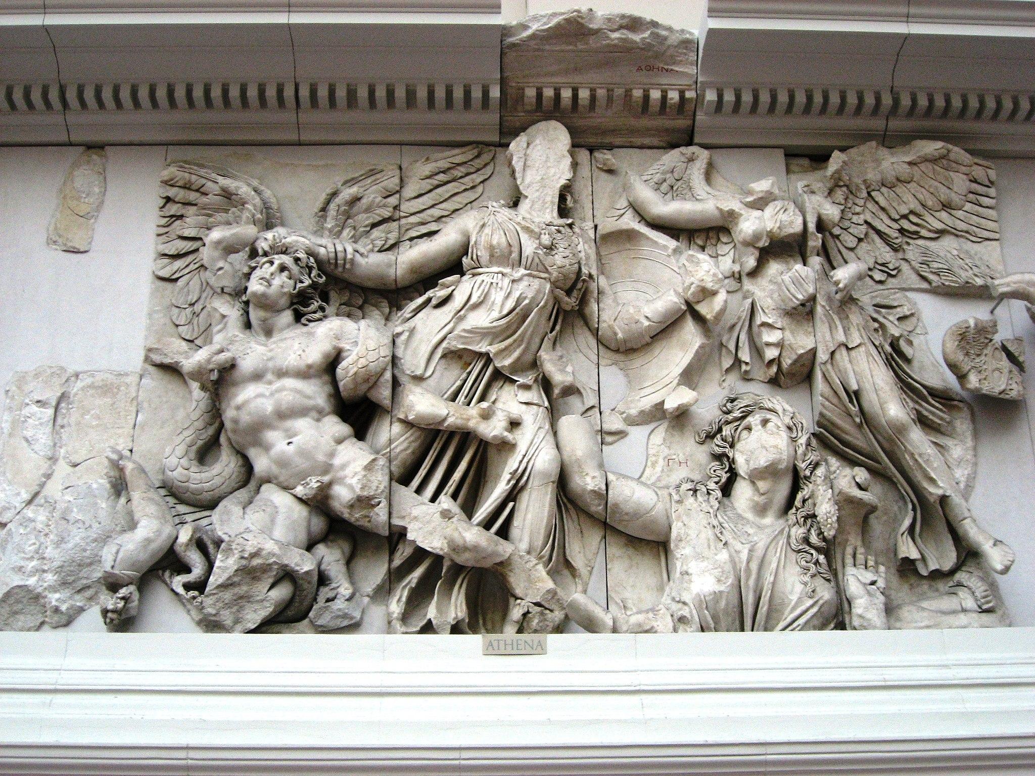 Pergamonmuseum - Antikensammlung - Pergamonaltar 13