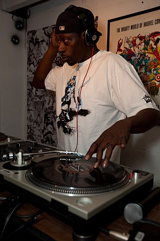 Pete Rock - Pete Rock performing at Marvel/Stussy launch party in Los Angeles, 2011