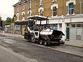 Petherton road N5 001 ABG68 asphalt laying machine.jpg