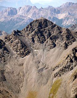 Pic de Petit Rochebrune Mountain in France