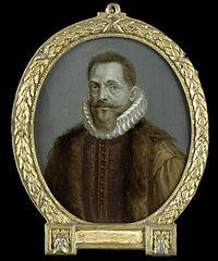 Portrait of Petrus Bertius, Professor at Leiden