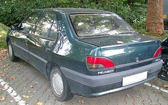 Peugeot 306 - Peugeot 306 Sedan saloon