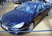 Peugeot 607 wikipedia for Interieur 607