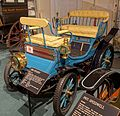 Peugot Vis-a-Vis, 1896, made by Peugot, Paris, France, 4 HP, 2 cylinder, gasoline engine - Luray Caverns Car and Carriage Museum - Luray, Virginia - DSC01195.jpg