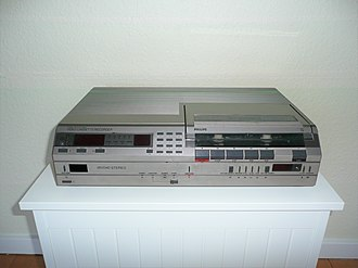 Video 2000 - The Philips VR2340 is a second-generation Philips Video 2000 recorder. This particular model features IR remote control, trick play and linear stereo.