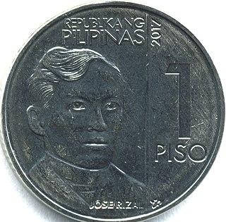 Philippine one-peso coin