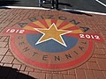 Phoenix, AZ, Arizona State Centenary Crosswalk Emblem - Devon Hyeoma, Photographer, 2012 - panoramio.jpg