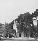 Photograph of chapel at Sandleford Priory, 1906, by Evelyn Elizabeth Myers (c. 1872-1909).jpg
