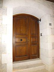 Photography by David Adam Kess, España, Aranda de Duero, Hand Carved Wooden Door, pic bbba47.jpg