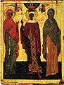 Piatnitsa, Varvara, Uliana (14-15 c, GTG).jpg