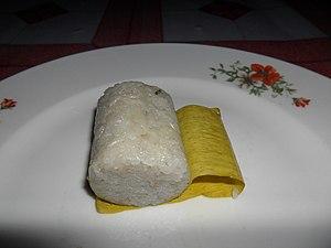 Lemang - Image: Piece of Lemang