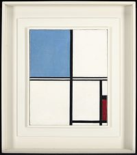 Piet Mondrian - Composition with Blue and Red - 75.83 - Minneapolis Institute of Arts.jpg