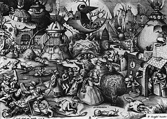 The Fall of the Rebel Angels (Bruegel) - Image: Pieter Bruegel the Elder Superbia (Pride) WGA3539