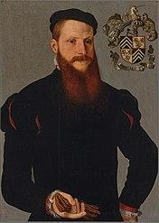 Portrait of Joris (?) van den Heede