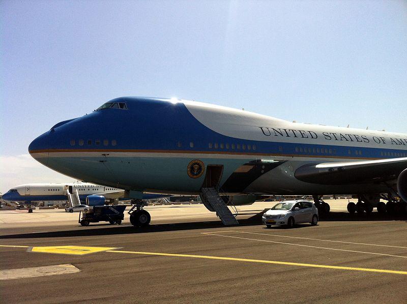 מטוסי נשיא ארצות הברית  בישראל
