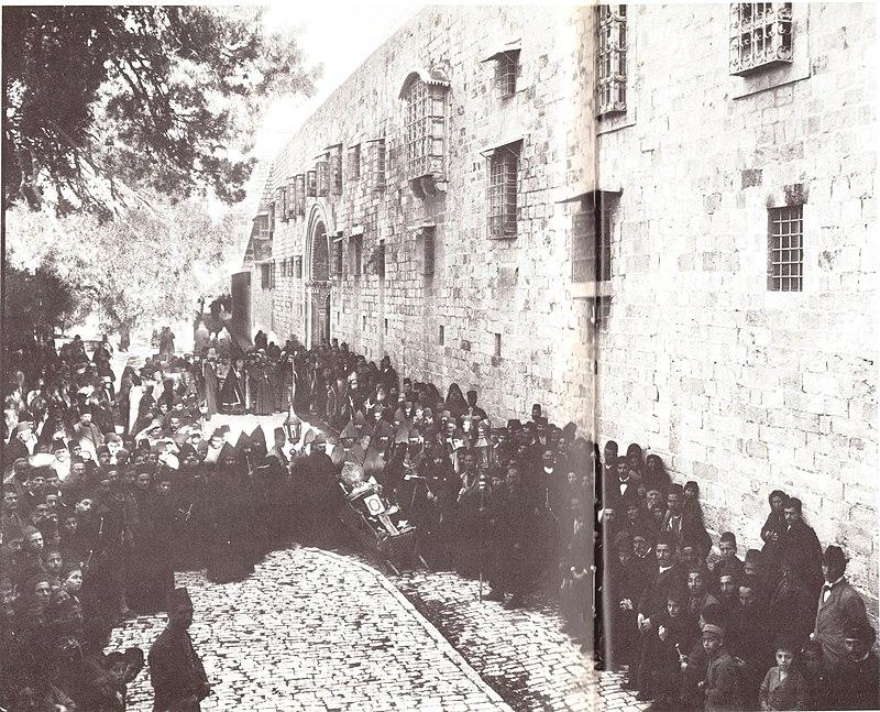ההלוויה של הפטריארך הארמני