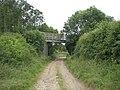 Pilgrim's Way bridges farm track - geograph.org.uk - 481554.jpg