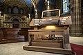 Pinerolo Santuario S.Cuore organo Mascioni - consolle.jpg