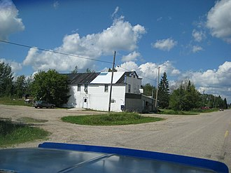 Piney, Manitoba - Image: Piney hotel 2007