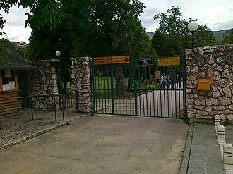 Pionirska dolina - Entrance to Pionirska dolina