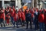 Piquet de grève - Charleroi 2015-04-22