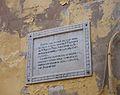 Placa a la casa natal de Francesc de Paula Martí Mora a Xàtiva.JPG