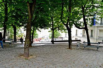 Bateau-Lavoir - Place Émile Goudeau in the 18th arrondissement of Paris