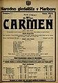 Plakat za predstavo Carmen v Narodnem gledališču v Mariboru 9. decembra 1924.jpg