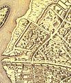 Plan de Paris au XVIe détail - St-Victor - Dheulland Guillaume (éd. 1907).jpg