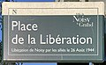 Plaque Place Libération - Noisy-le-Grand (FR93) - 2021-04-24 - 1.jpg