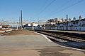 Plataformas de passageiros na Estação do Entroncamento, 2009.12.19.jpg