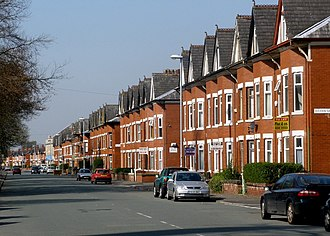 Rusholme - Platt Lane in Rusholme