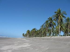 Playa de Corral de Mulas, Usulután, El Salvador - panoramio