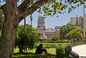 Plaza Congreso summer
