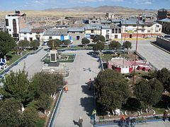 Plaza Central de Yauri, Espinar