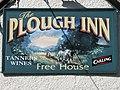 Plough Inn sign, Llanrhaeadr Ym Mochnant - geograph.org.uk - 1232797.jpg